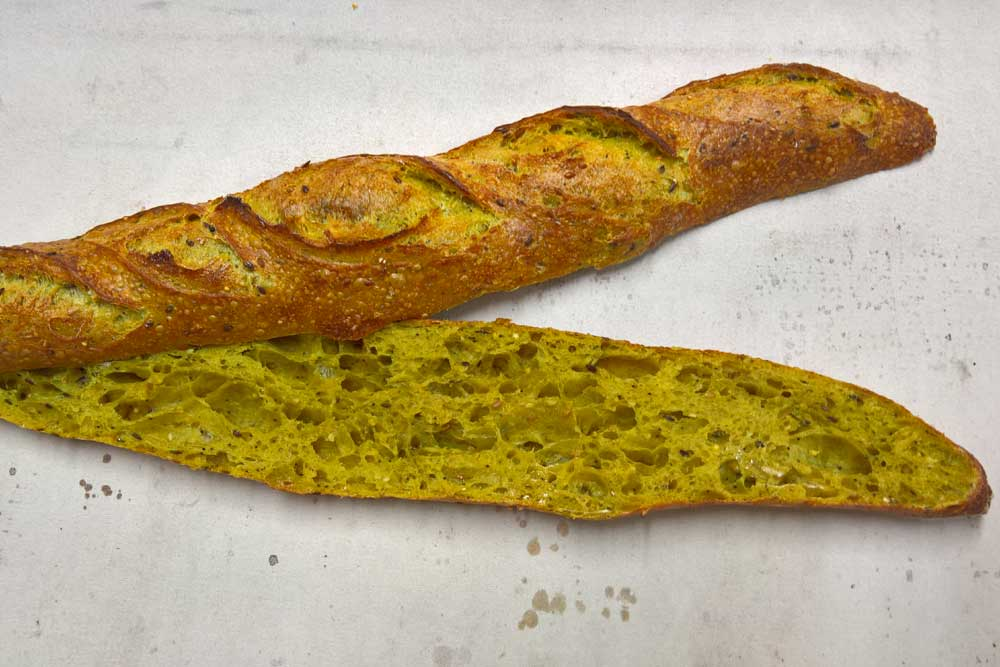 Le Fournil de MarYann - Baguette graines curry